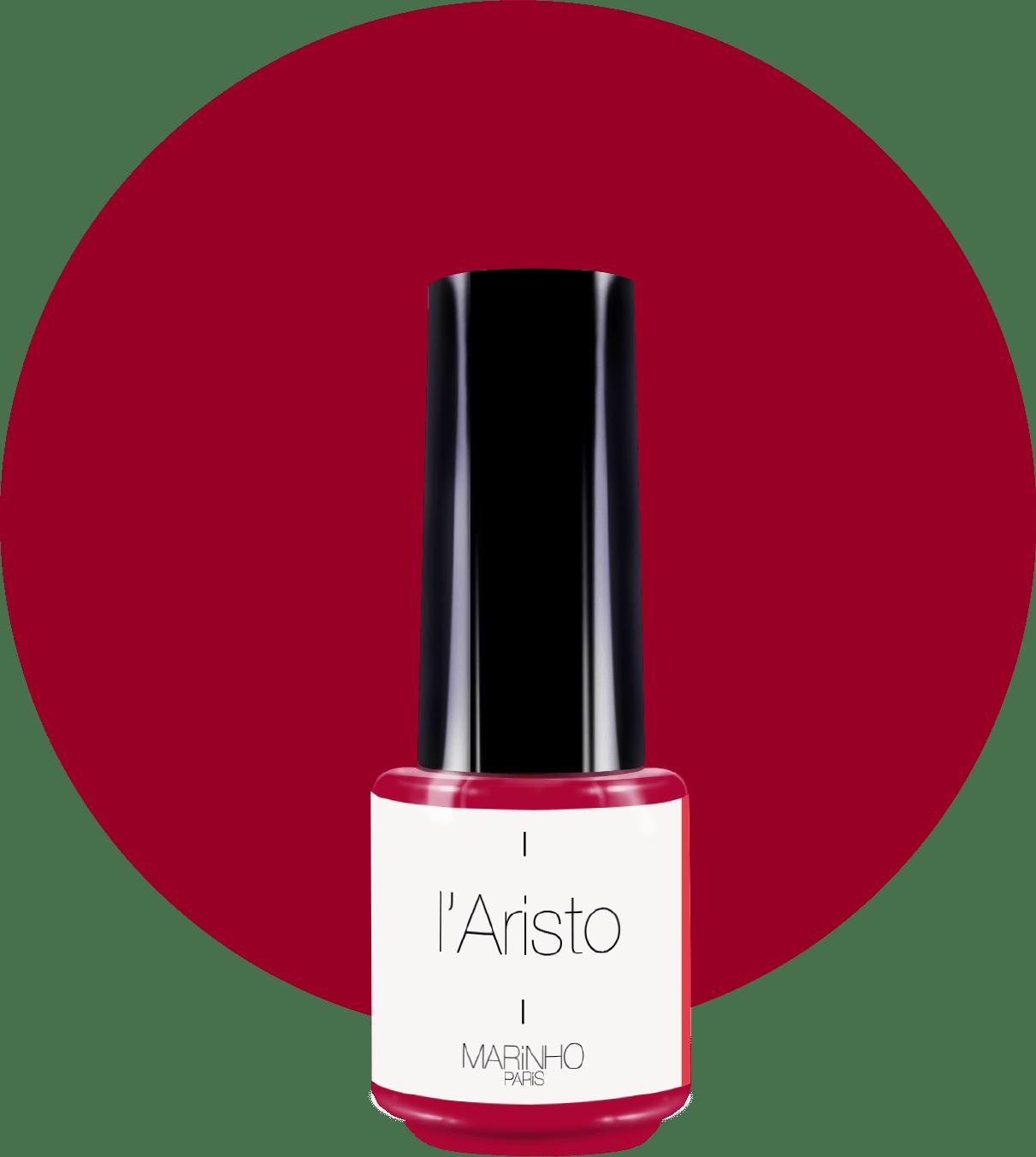 vernis semi-permanent rouge