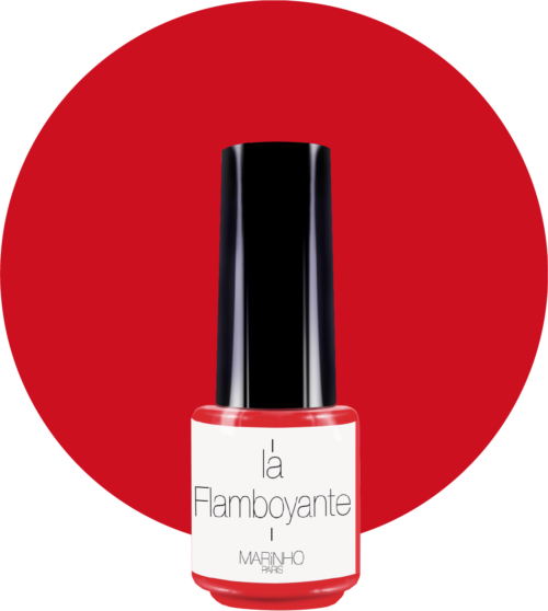 vernis semi-permanent rouge