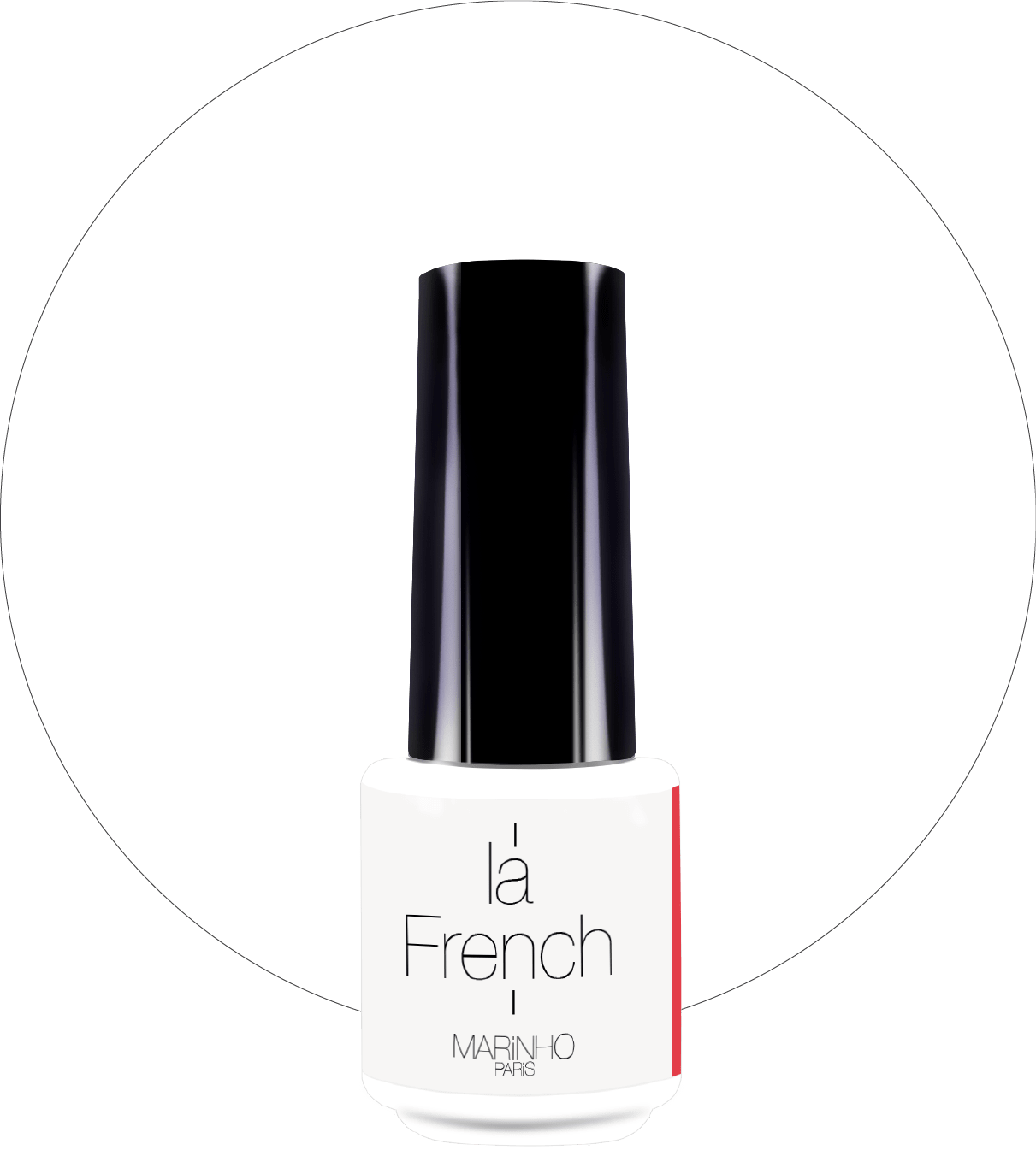 vernis semi permanent blanc pour french