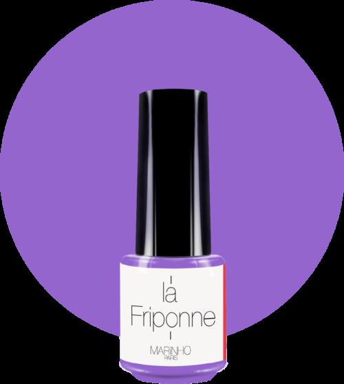 vernis semi-permanent violet