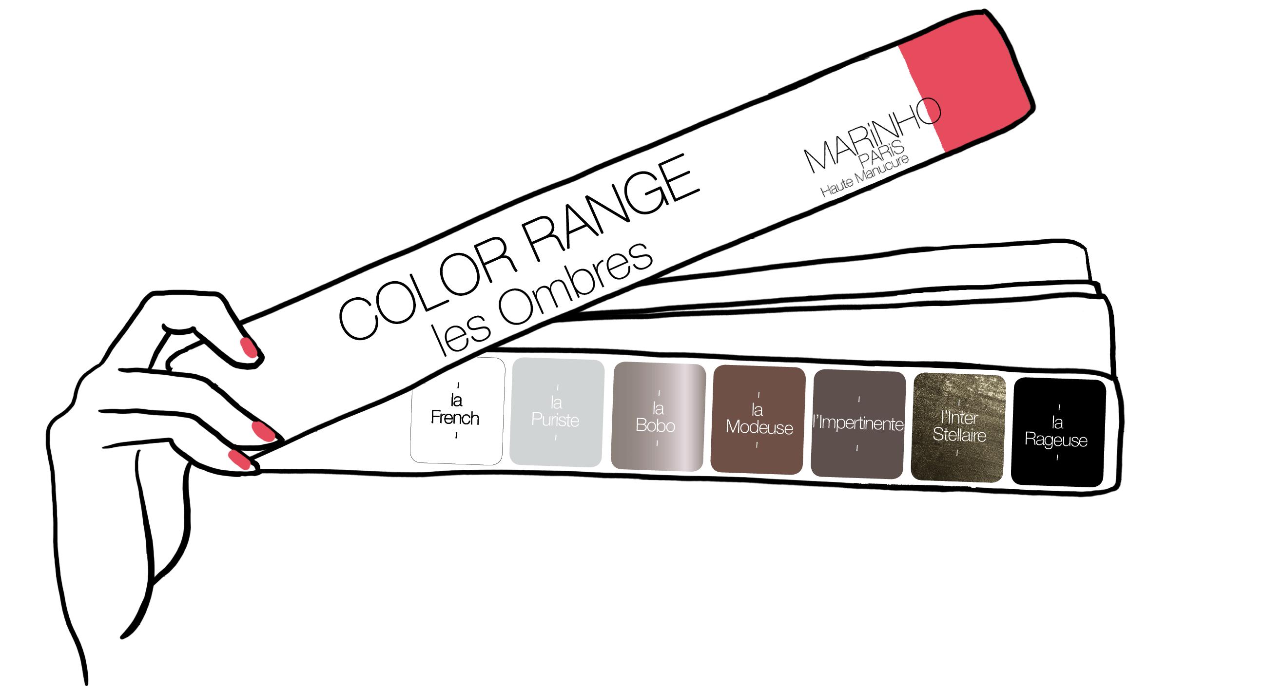 gamme couleur marinho paris été 2019 pour la croisière. Vernis gris et marron