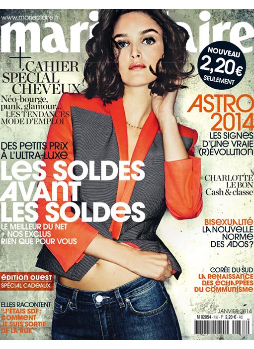 page de couverture du magazine Marie-Claire les soldes avant les soldes